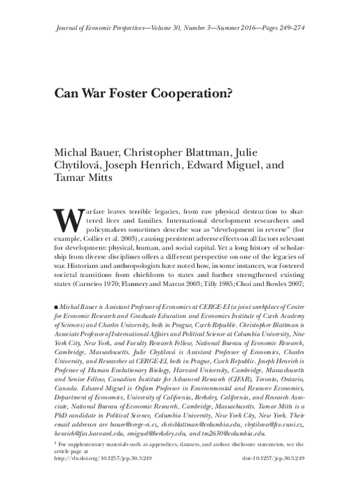 graph_publication_Can war foster cooperation?