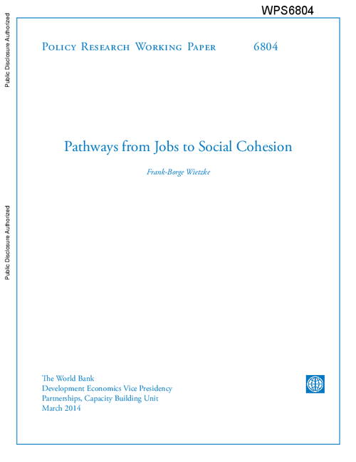graph_publication_Pathways from Jobs to Social Cohesion